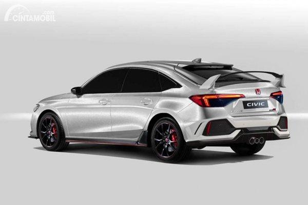 Honda Civic Type R 2022 rendering