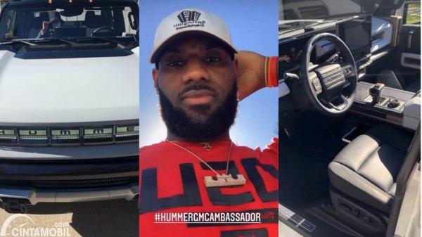 GMC Hummer LeBron James