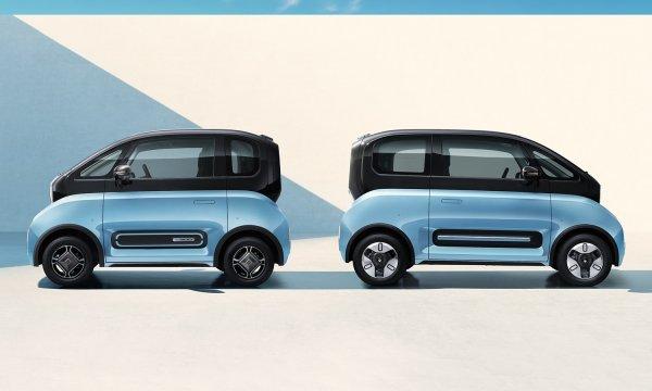 Foto mobil listrik Baojun e300 dan e300 plus
