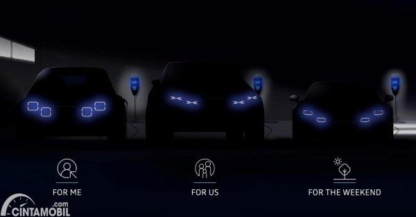 Line-up mobil EV Alpine