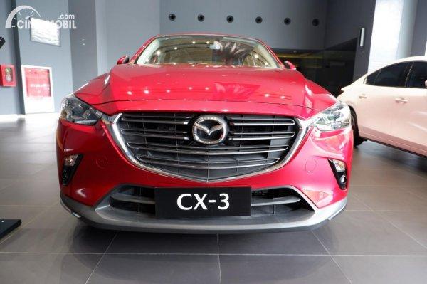 Foto tampilan depan Mazda CX-3 PRO 2020