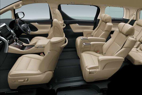 Foto Interior Toyota Alphard 2020