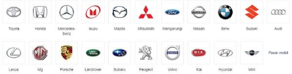 Gambar menunjuakn Daftar mobil dijual