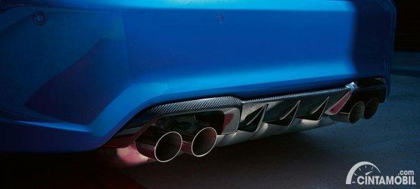 Rear diffuser BMW M2 CS 2020