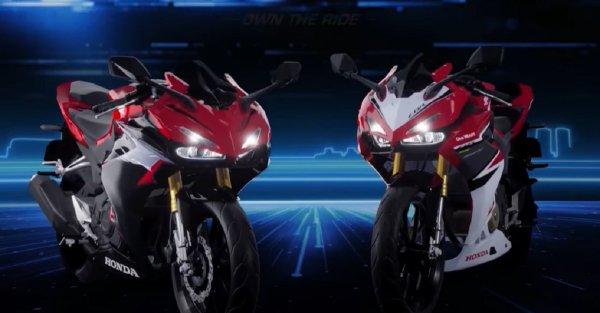 Gambar menunjukan Motor baru Honda