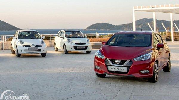 Tiga generasi Nissan March
