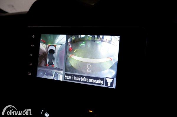 Foto kamera parkir Nissan Magnite Premium CVT 2020