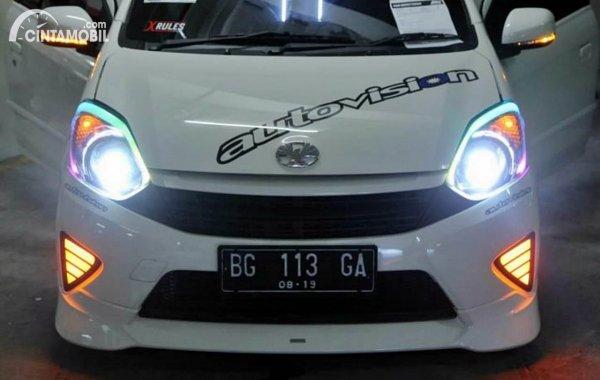 Lampu Mobil Agya Custom