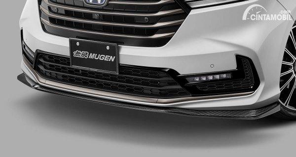 Paket bodykit bumper dari Mugen untuk Honda Odyssey 2020