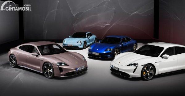 Pilihan warna Porsche Taycan RWD 2021