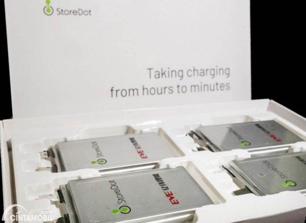 Baterai Xtreme Fast Charging StoreDot