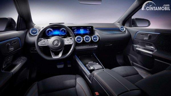 Kabin Mercedes-Benz EQA 2021