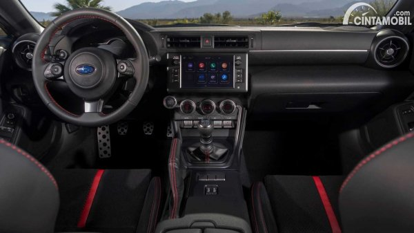 Layout kabin Subaru BRZ