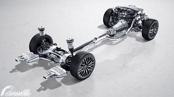 Platform Mercedes-Benz S-Class W223