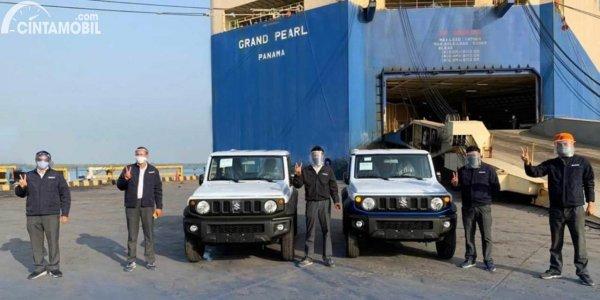 Espor Suzuki Jimny dari India