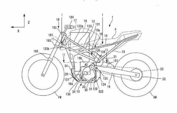 Paten Desain Motor Listrik Honda