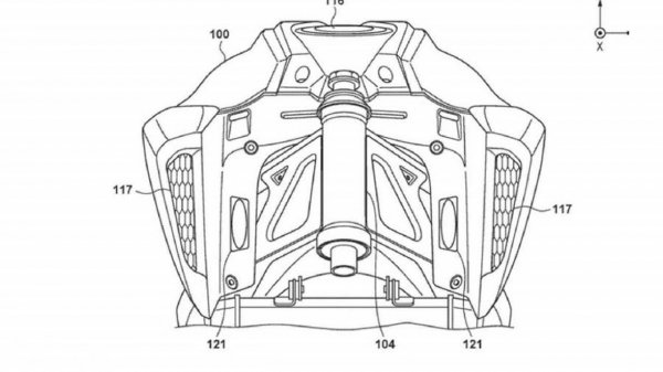 Tangki Motor Listrik Honda CB125R
