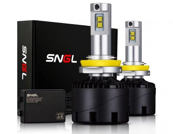 Foto menunjukkan lampu SNGL Headlight LED