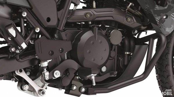 Kawasaki KLR650 2022 engine