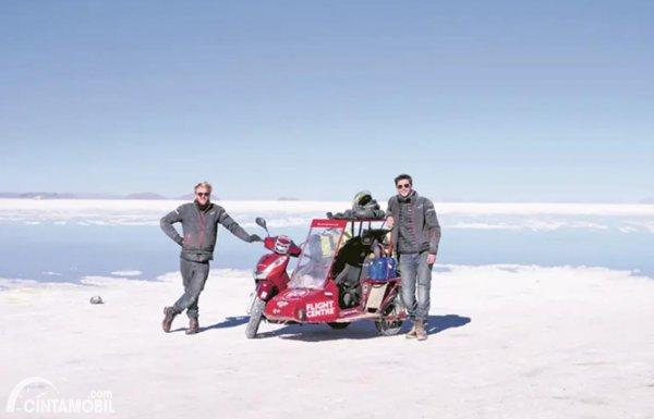 Perjalanan The Sidecar Guys