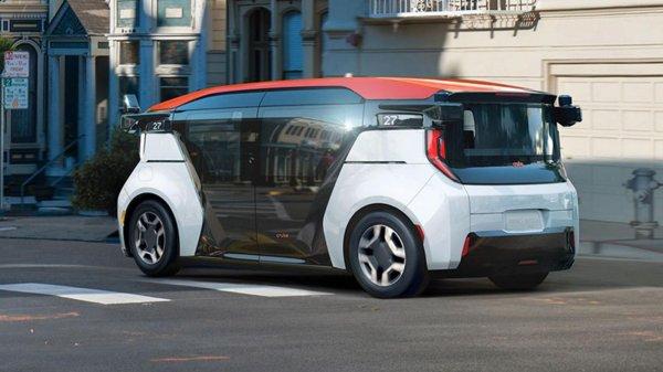 Gambar menunjukan Mobil otonom