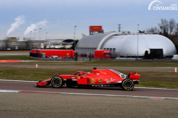Carlos Sainz Jr Ferrari SF71H