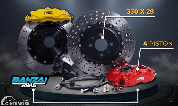 BBK HSR Wheel Honda Jazz