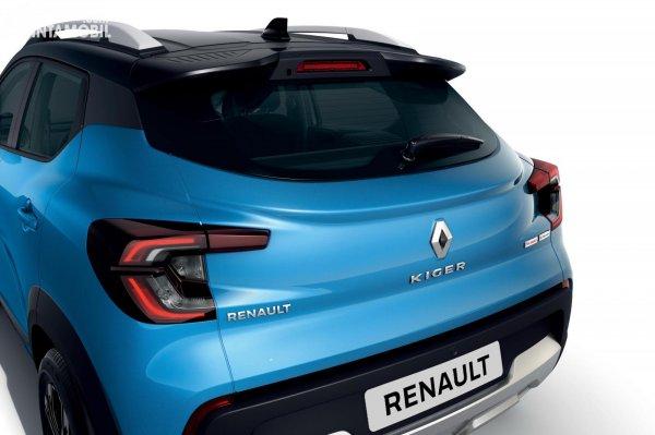 Tampilan belakang Renault Kiger 2021