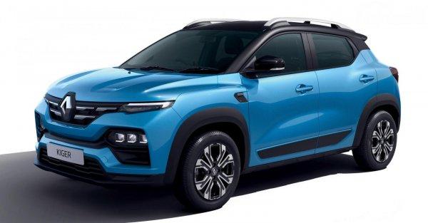 Tampilan depan Renault Kiger 2021
