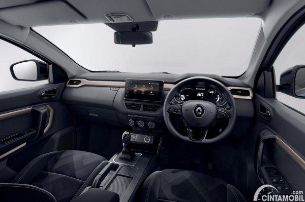 Desain interior Renault Kiger 2021