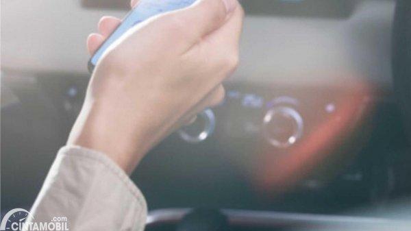 Teaser interior Honda HR-V 2021