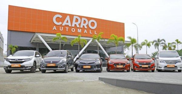 Gambar menunjukan Delaer mobil CARRO