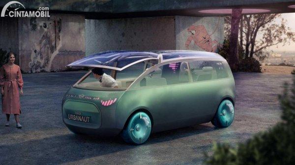 mobil konsep MINI Vision Urbanaut EV