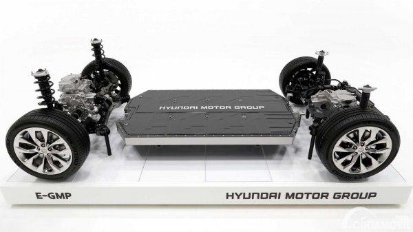 platform E-GMP milik Hyundai untuk Apple Car