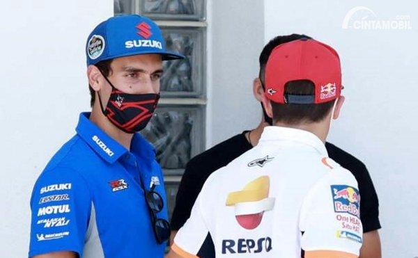 Alex Rins dan Marc Marquez