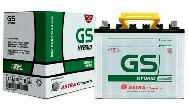 Aki Mobil GS Hybrid Avanza