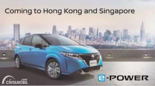 Gambar Nissan Note e-POWER Hongkong dan Singapura
