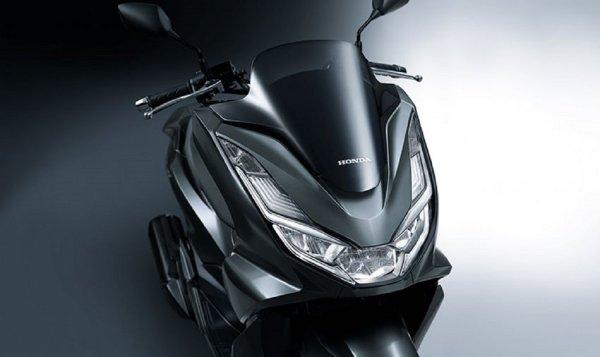 Gambar menunjukan Tampang Honda PCX 160