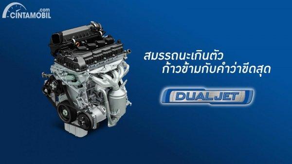 Mesin 1.2L yang dipakai di Suzuki Swift 2021