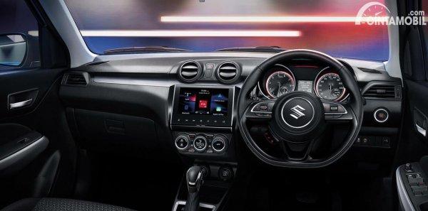Tampilan interior Suzuki Swift 2021 Thailand