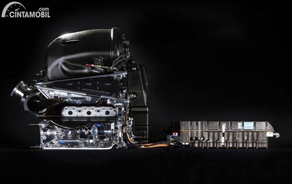 Power unit V6 1.6L turbo-hybrid Mercedes-AMG yang akan dipakai McLaren mulai 2021