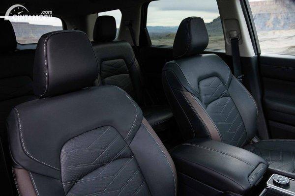 Layout kursi Nissan Pathfinder 2022