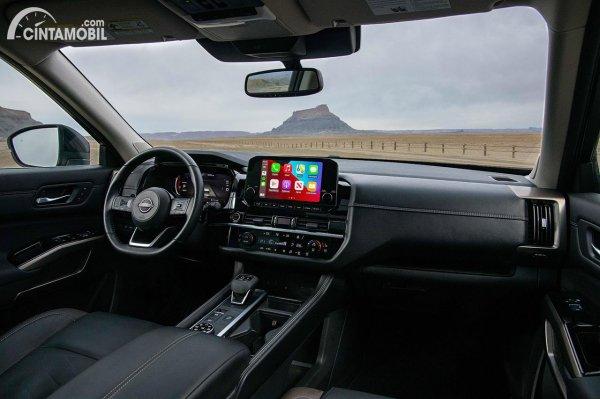Tampilan interior Nissan Pathfinder 2022