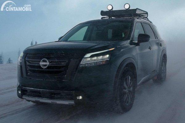 Pengetesan Nissan Pathfinder 2022