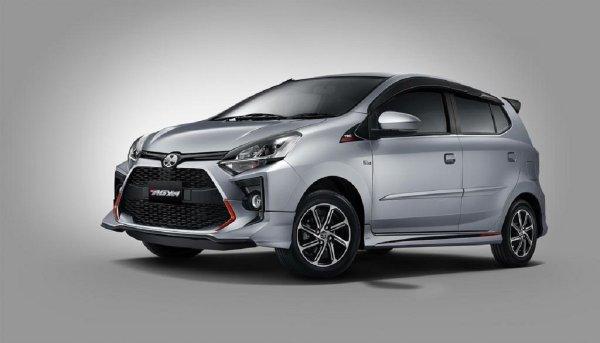 Gambar menunjukan Toyota Agya