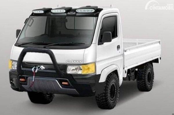 Modifikasi Digital Suzuki Carry