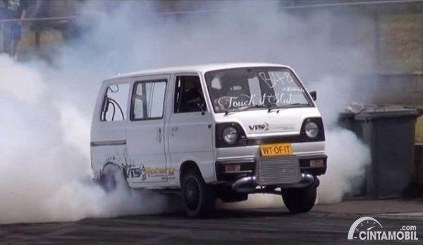 Modifikasi Suzuki carry bagong tubro