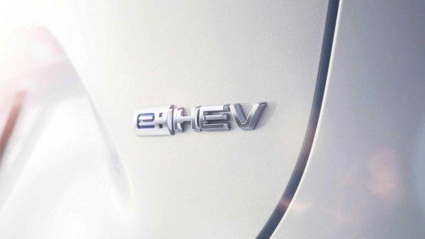 Honda HR-V 2021 dengan emblem e:HEV