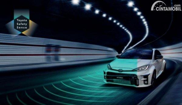 Gambar Toyota Safety Sanse Toyota GR Yaris