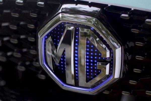 Gambar menunjukan mobil MG